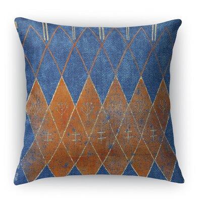 Nessadiou Throw Pillow Size: 18 H x 18 W x 5 D, Color: Blue