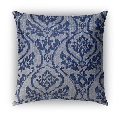 Osterville Burlap Indoor/Outdoor Throw Pillow Size: 18 H x 18 W x 5 D