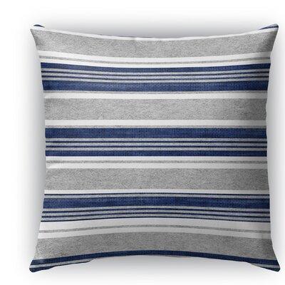 Sagamore Burlap Indoor/Outdoor Throw Pillow Color: White/Light Gray, Size: 16 H x 16 W x 5 D