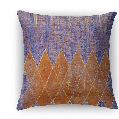 Nessadiou Throw Pillow Size: 24 H x 24 W x 5 D, Color: Purple