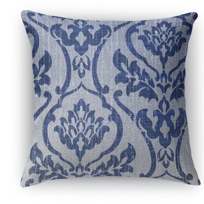 Osterville Burlap Indoor/Outdoor Throw Pillow Size: 18 H x 18 W x 5 D