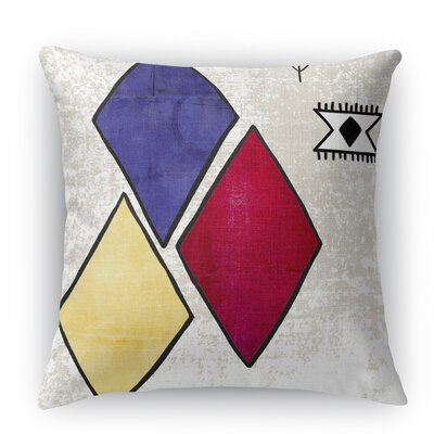 Aglou Throw Pillow Size: 24 H x 24 W x 5 D