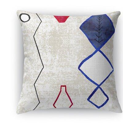 Sedrate Burlap Indoor/Outdoor Throw Pillow Size: 20 H x 20 W x 5 D