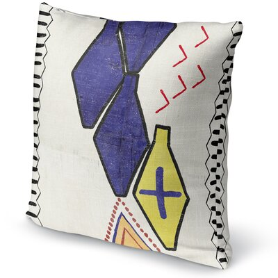 Gunther Throw Pillow Size: 24 H x 24 W x 5 D