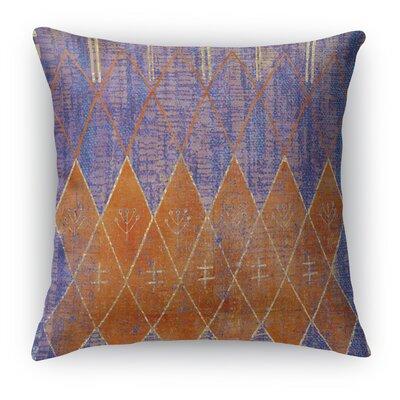 Nessadiou Burlap Indoor/Outdoor Throw Pillow Size: 16 H x 16 W x 5 D, Color: Purple