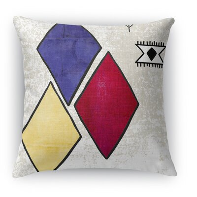 Aglou Burlap Indoor/Outdoor Throw Pillow Size: 16 H x 16 W x 5 D