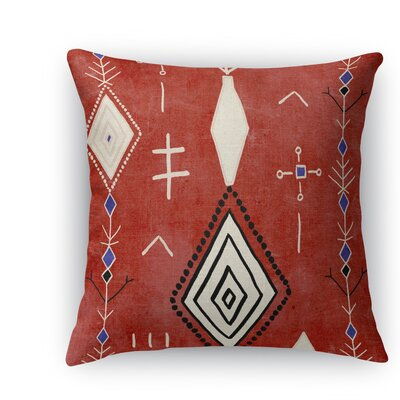 Mehaya Burlap Indoor/Outdoor Throw Pillow Size: 26 H x 26 W x 5 D