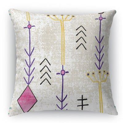 Mezouar Burlap Indoor/Outdoor Throw Pillow Size: 16 H x 16 W x 5 D