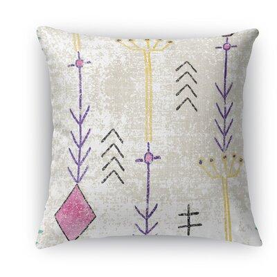 Mezouar Burlap Indoor/Outdoor Throw Pillow Size: 18 H x 18 W x 5 D