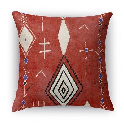 Mehaya Burlap Indoor/Outdoor Throw Pillow Size: 18 H x 18 W x 5 D
