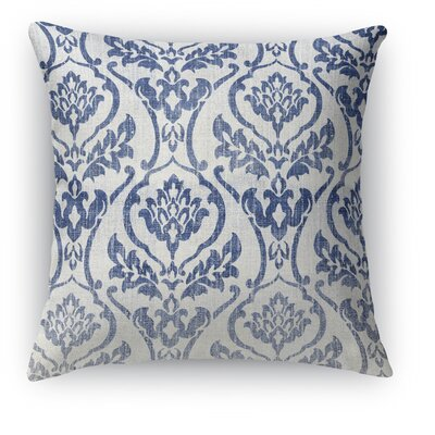 Seabury Throw Pillow Color: Gray/Blue, Size: 24 H x 24 W x 5 D