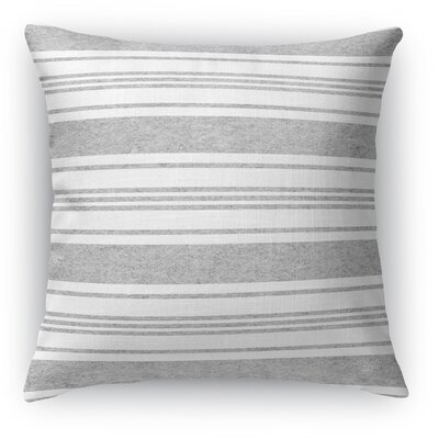 Sagamore Throw Pillow Color: Blue/Light Gray, Size: 18 H x 18 W x 5 D