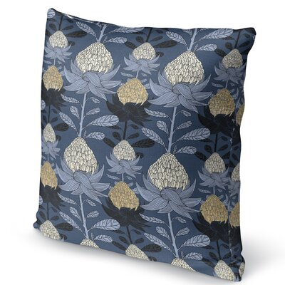 Elicia Blossom Throw Pillow Size: 16 H x 16 W x 5 D