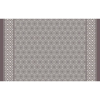 Draven Brown Area Rug Rug Size: 3' x 5'