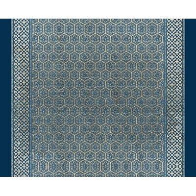 Cedric Dark Blue Area Rug Rug Size: 8 x 10