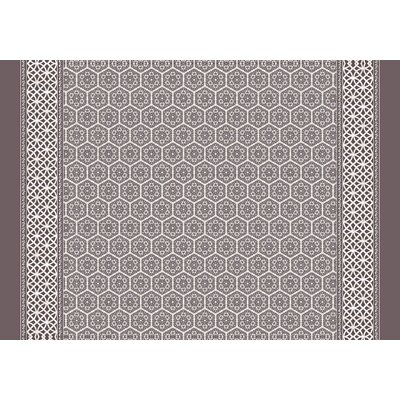 Draven Brown Area Rug Rug Size: 2' x 3'