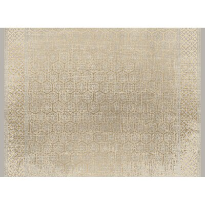 Cedric Brown Area Rug Rug Size: 5' x 7'