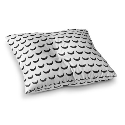 Crescent Floor Pillow Size: 26 H x 26 W x 12.5 D