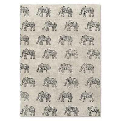 Netea Gray Area Rug Rug Size: Rectangle 8 x 10
