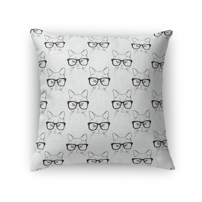 Hipster Nyx Throw Pillow Size: 24 H x 24 W x 5 D