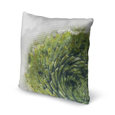 Prince Aloe Throw Pillow Size: 18 H x 18 W x 5 D