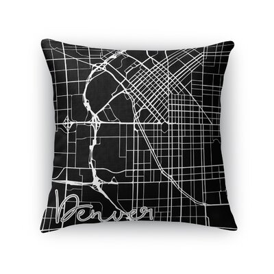 Denver Throw Pillow Size: 16 H x 16 W x 5 D