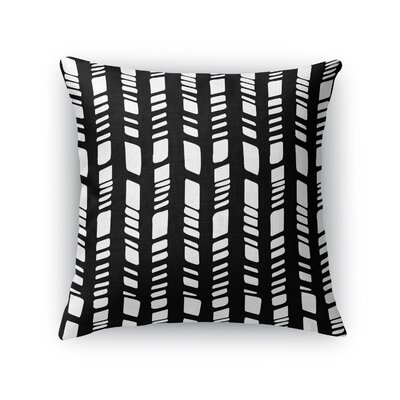 Baby Tribal Throw Pillow Color: Black, Size: 24 H x 24 W x 5 D