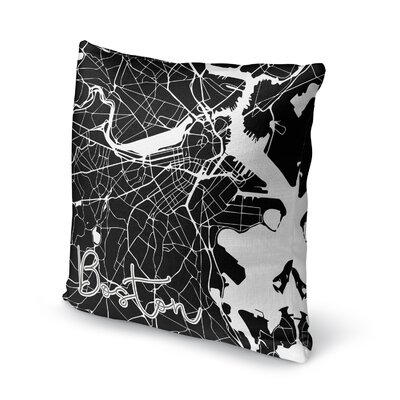 Boston Accent Pillow Size: 16 H x 16 W x 5 D