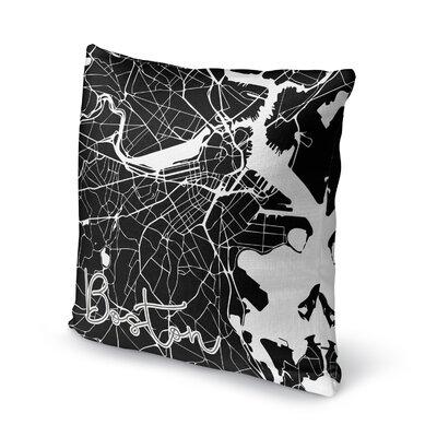 Boston Accent Pillow Size: 18 H x 18 W x 5 D