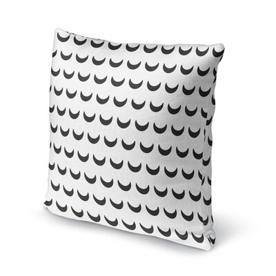 Crescent Accent Pillow Size: 16 H x 16 W x 5 D