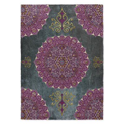 Gosney Pink/Blue Area Rug Rug Size: Rectangle 5 x 7