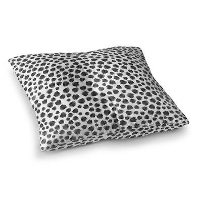 Jagged Spots Floor Pillow Size: 26 H x 26 W x 12.5 D