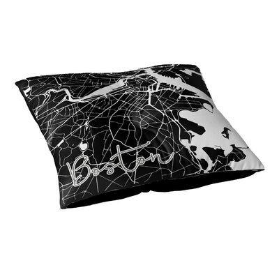 Boston Floor Pillow Size: 26 H x 26 W x 12.5 D