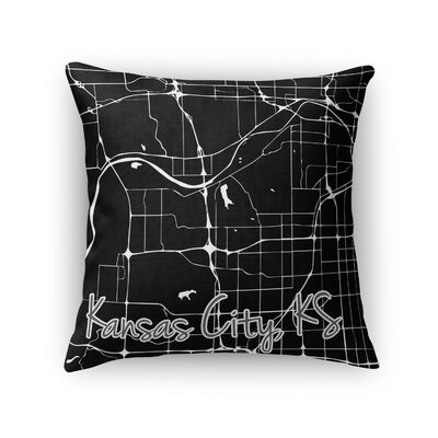 Kck Throw Pillow Size: 18 H x 18 W x 5 D