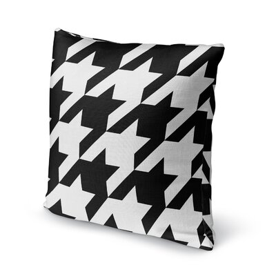 Houndstooth Accent Pillow Size: 16 H x 16 W x 5 D
