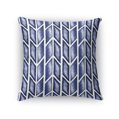 Arrows Throw Pillow Size: 16 H x 16 W x 5 D, Color: Indigo