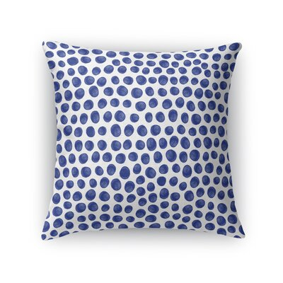 Paint Dot Throw Pillow Size: 18 H x 18 W x 5 D