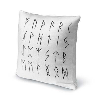 Signs Accent Pillow Size: 24 H x 24 W x 5 D