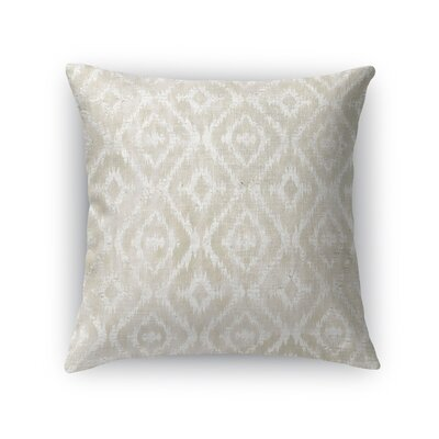 Delores Throw Pillow Size: 24 H x 24 W x 5 D, Color: Ivory