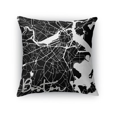 Boston Throw Pillow Size: 18 H x 18 W x 5 D