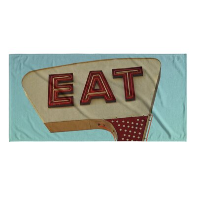 Eat Beach Towel
