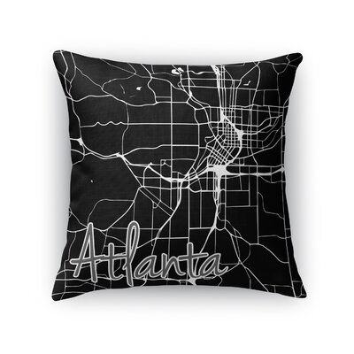 Atlanta Throw Pillow Size: 18 H x 18 W x 5 D