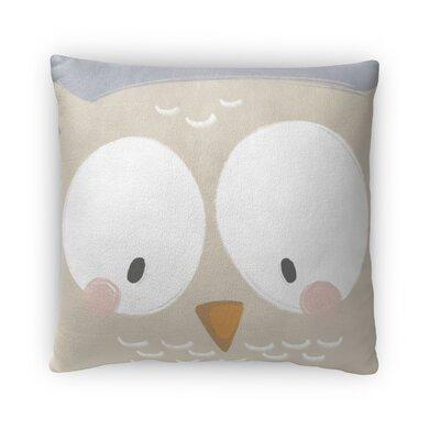 Owl Throw Pillow Size: 18 H x 18 W x 4 D