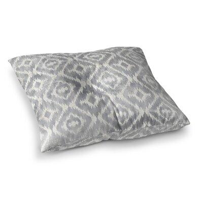 Delores Floor Pillow Size: 23 H x 23 W x 9.5 D, Color: Gray