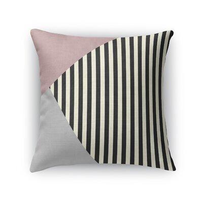 Layered Stripe Throw Pillow Size: 24 H x 24 W x 5 D