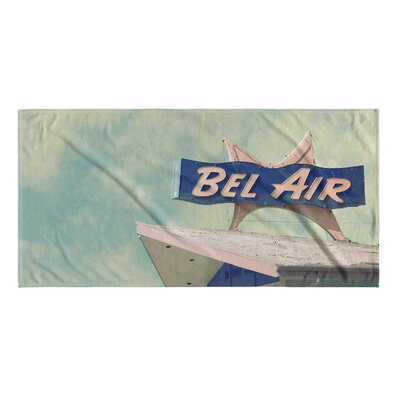 Bel Air Motel Beach Towel