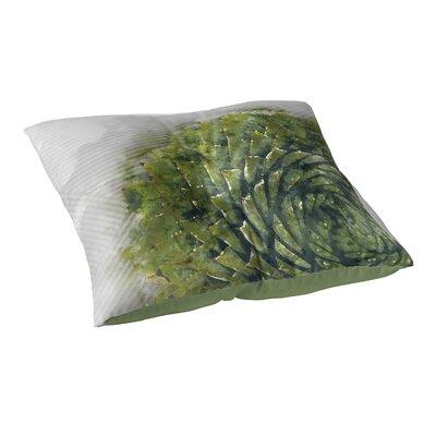 Watercolor Aloe Floor Pillow Size: 23 H x 23 W x 9.5 D