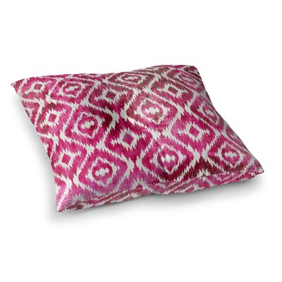 Laplant Floor Pillow Size: 23 H x 23 W x 9.5 D, Color: Pink