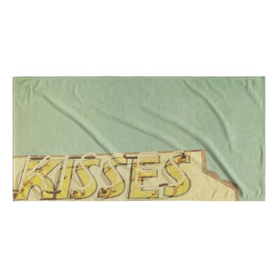 Kisses Beach Towel