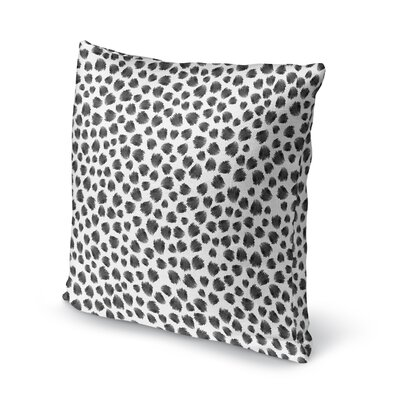 Jagged Spots Accent Pillow Size: 16 H x 16 W x 5 D
